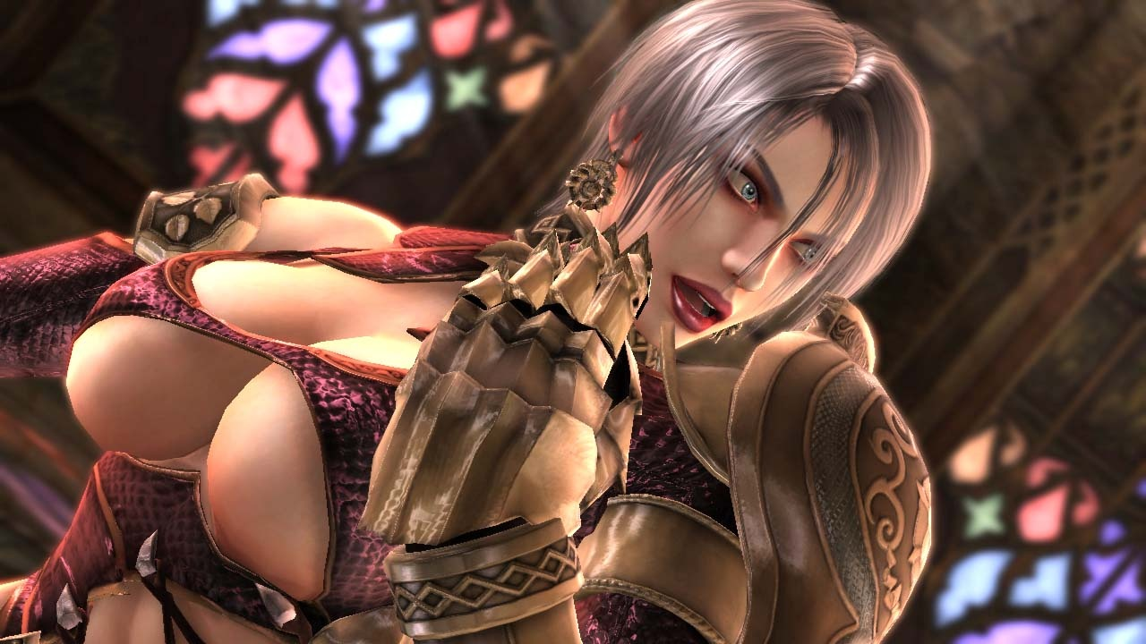 SOUL CALIBUR IV The Sexy Girls KICK-ASS Edition. - YouTube