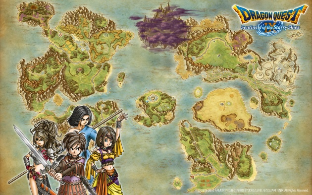 Стали известны детали сюжета Dragon Quest X