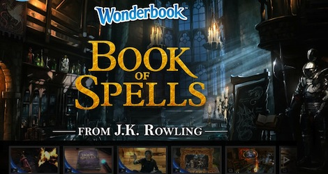 Игра Wonderbook: Book of Spells вышла на PlayStation 3