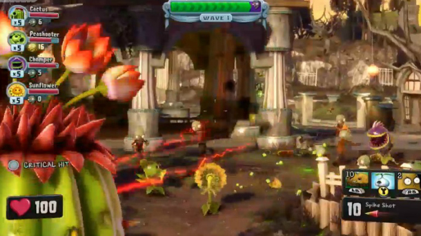 Для игры в Plants vs. Zombies: Garden Warfare нужно соединение с Xbox Live