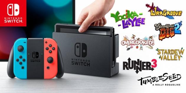 Для Nintendo Switch планируется еженедельно запускать 20-30 проектов