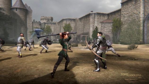 Ролевая тактика Lost Eidolons для консолей и ПК ожидается в конце 2021 года